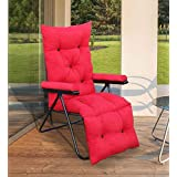 Spacecrafts Recliner Folding Easy Chair (Full, Red)