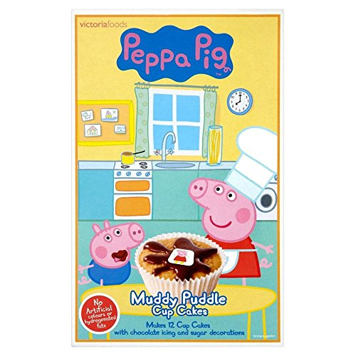 Peppa Pig Schlammigen Pfütze Cupcake -Mix (225G) (Cupcakes Peppa Pig)