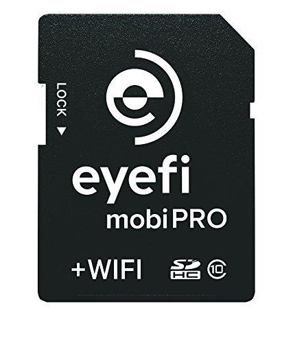 ワイヤレスSDHCカード Eyefi Mobi Pro(アイファイ モビプロ) 32GB Class10 WiFi内蔵