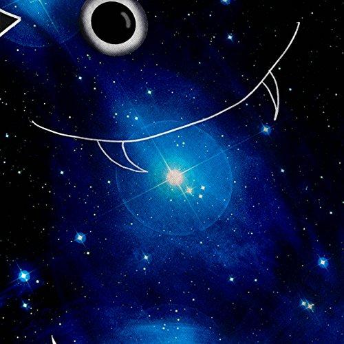 Monster Galaxis Star Platz kosmisch Kumpel Damen Schwarz S-2XL Muskelshirt   Wellcoda Schwarz