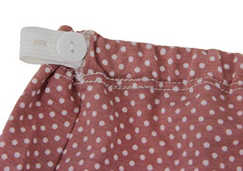 BaoCore Culotte de Femme Enceinte Culotte de grossesse femme Dentelle Grande Taille Haute Sous-vêtements Maternité avec élastique de soutien pour ventre Respirant Slip Comfortable En Conton Gris+Rouge