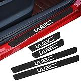 FSXTLLL Seuil de Porte de Voiture Autocollant seuil de portière, pour Subaru WRX WRC