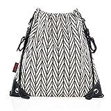 Kinderwagen-Einkaufstasche Clip&Go Bag, stylischer großer Turnbeutel, wasserabweisend, Kinderwagen-Befestigung, mehrfarbig