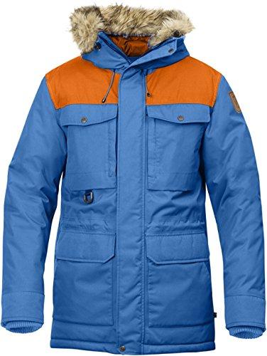 Fjallraven Polar Guide Mens Parka UN Blue-Burnt Orange