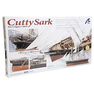 Holzmodell Schiff Cutty Sark Tea Clipper 1/84