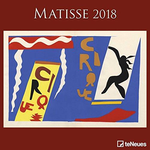 2018 Matisse Calender - teNeues Grid Calendar- Art Calender - 30 x 30 cm