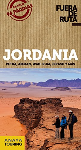 Jordania (Fuera De Ruta) por Anaya Touring
