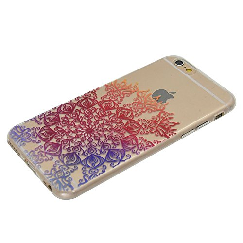 """For IPHONE 6 PLUS 5.5""""[COLORFUL TPU DTV1]Scratch-Proof Ultra Thin Rubber Gel TPU Soft Silicone Bumper Case Cover -DTPUV107 DTPUV108"""