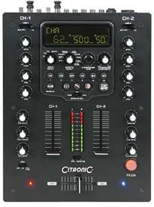 Citronic SMFX-200 Table de mixage 2 canaux DSP USB MAC PC