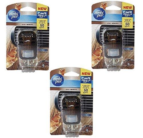 Ambi Pur Tobacco Liquid Car Air Freshener (7.5ML, Pack of 3)