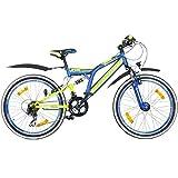 24 Zoll MTB Fully Galano Adrenalin DS Mountainbike...