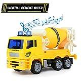 Traktor Spielzeug Cars Zement Mixer Spielzeug Truck mit Licht und Sound Baufahrzeug Spielzeug Auto Geschenk für 3 4 5 Jahre alte Jungen Mädchen Kinder