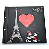 Disneyland Paris - Álbum de Fotos con diseño de Mickey y Minnie