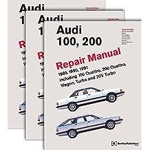 Audi 100, 200 Repair Manual--1989-1991: Including 100 Quattro, 200 Quattro, Wagon, Turbo and 20-Valve Models
