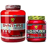 BSN Syntha-6 Edge 1.87kg Chocolate Milkshake with N.O.-Xplode Fruit Punch 600g