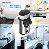 Seifenspender Sensor Infrarot Ohne Bohren 300ML / Automatisch Berührungslos Elektrisch / Edelstahl Set Nachfüllbar Gebürstet Design / Automatik Seifendosierer für Dusche Küche Bad / Soap Dispenser Automatic -