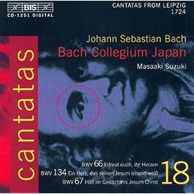 Bach, J.S.: Cantatas, Vol. 18 - Bwv 66, 67, 134
