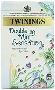 Twinings Double Mint Sensation 20 Envelopes (Pack of 4)