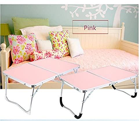 ZWZT Portable Laptop Bed Table Standing Desk Foldable Sofa Breakfast Tray Notebook Stand Reading Holder for Couch Floor Kids ,