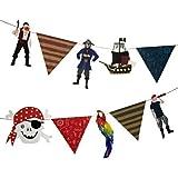 Meri Meri Girlande - Pirate Party / Piraten