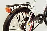 20 ZOLL Kinder Fahrrad Kinderfahrrad Cityfahrrad Citybike Mädchenfahrrad Bike VOLTAGE LADY WEISS -
