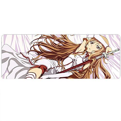 HLDC Erweitertes Mauspad, Super Anime, Sword Art Online, Tokyo Ghoul, Naruto Spiel-Pad, 1000 x 500 x 3 mm (Spiel Ghoul Tokyo)