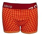 Zoiro Men's Cotton Trunk_Trento#0082_Orange_(XL-100/105)