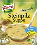 Knorr Suppenliebe Steinpilz Suppe, 10 x 3 Teller (10 x 750 ml)