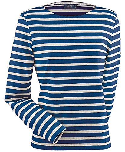 Saint James Meridame - Streifenshirt - Bretagne-Shirts Marine/Ecru