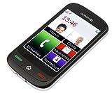 Olympia 2150 Touch 2 Touchscreen-Handy (8,9 cm (3,5 Zoll), Bluetooth, FM-Radio, Taschenlampe) Schwarz
