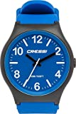 Cressi Analogic Watch Echo Wasserdicht Analoguhr, Schwarz Blau, Uni