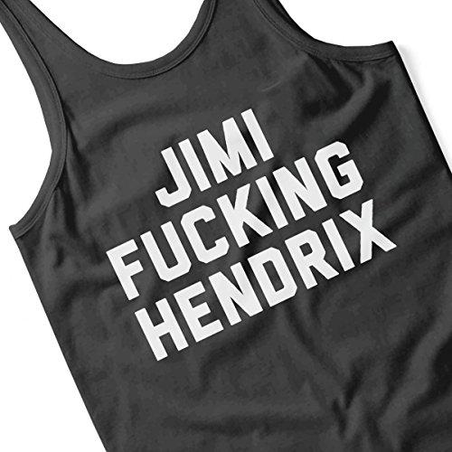 Jimmy Fucking Hendrix Women's Vest Black