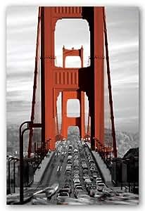 Golden Gate Bridge - San Francisco - Maxi Poster - 61 cm x 91.5 cm by Gb Posters