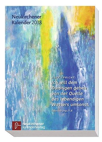 Neukirchener Kalender 2018: Buchausgabe kartoniert