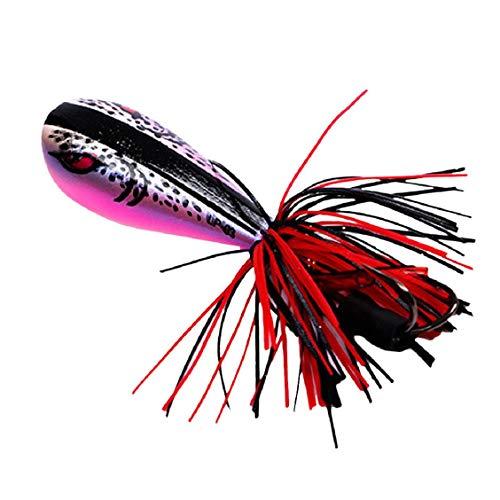 Vaycally 10 sinkende Spinner löffel köder fischköder künstliche harten köder für Forelle bass hecht angelgerät ausrüstung 10g / 10 cm (Spinner Ratte)