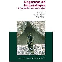 Amazon.fr : capes interne anglais : Livres
