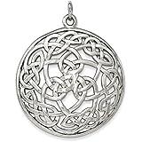 Sterling Silver Polished Celtic Pendant