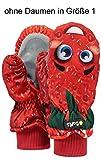 Barts Kinder Handschuhe Nylon Mitts Strawberry (rot), Größe:Kinderhandschuhe Gr. 1