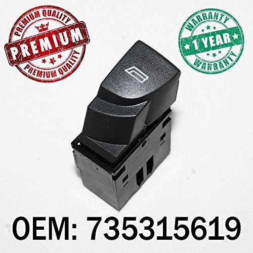 fen/être commutateur Bouton gauche ou droite pilote contr/ôle OEM 3b0959855b01/C 3b0959855b