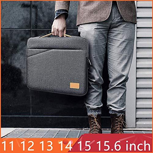 Aktentasche Laptop 15,6-Zoll-wasserdichte Laptop-Tasche Herren-Laptop-Tasche (Size : 15 15.6 inch) -