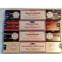 Satya Nag Champa Räucherstäbchen, Palo Santo, Kalifornischer weißer Salbei mit Zimt mit London-Motiv, von Sterling... preisvergleich bei billige-tabletten.eu