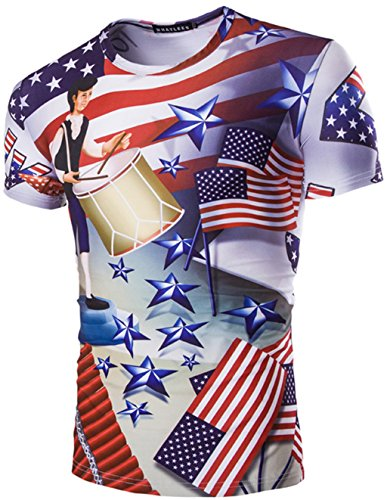 whatlees-unisex-digital-print-slim-fit-t-shirt-with-colored-3d-usa-flag-pattern