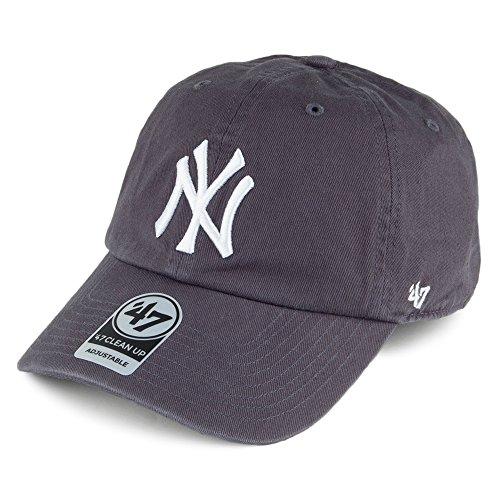 47 Brand New York Yankees Clean Up Baseball Cap - Denim