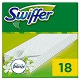 Swiffer Trockene Bodentücher Nachfüllpackung (mit Febreze Duft), 18 Tücher