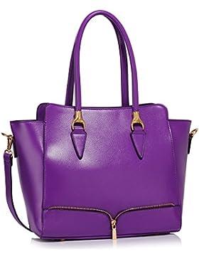 LeahWard® Damen Große Größe Berühmtheit Stil Tragetaschen nett Damen Schultertasche Handtaschen 456