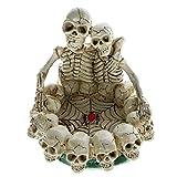 Crane Statue Skull Sculpture Moderne Crâne Couple Amoureux Cendrier Squelette Crâne Cendrier Plateau Anneau Bol Ne Meurt Jamais Pour Les Amoureux Fumeurs Articles De Collection Tableau Ornement