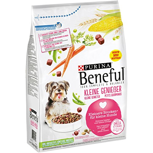 Purina Beneful Hundetrockenfutter Kleine Genießer (mit Rind und Gemüse) 2,8kg Beutel