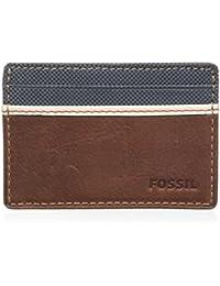 Fossil Elgin, Porte-cartes d'identité (Card Cases) homme, Braun (Brown), 1x7x10 cm (B x H T)