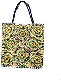 Shubhangi Women's Shoulder Bag (Jaipuri Embridered Handicraft Traditional Handbags,stylish Traditional Bag,Multi-Coloured... - B079KRH9NN