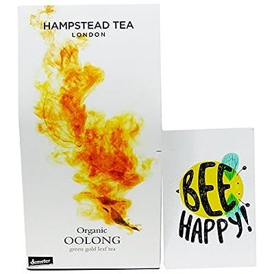Hampstead Tea - Thé Noir Oolong Biodynamique en Feuilles - 50 gr